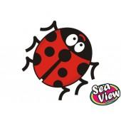 18 Ladybird Stickers