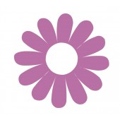 30 Daisy Flower Stickers
