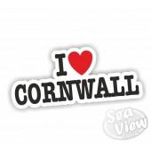 I Heart My Cornwall Sticker