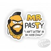 MR pasTy Sticker