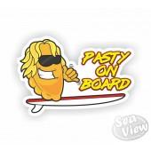 Pasty On Board Sticker
