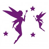 52 Tinkerbell Fairy Stickers