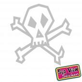 18 Skull Stickers