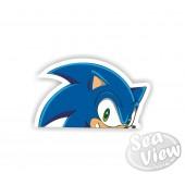Peeping Sonic Sticker