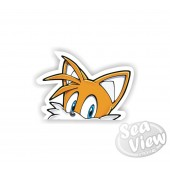 Peeping Tails Sticker