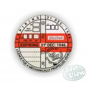 1946 Commemorative Tax Disc