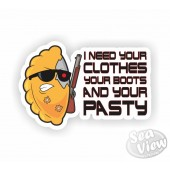 Terminator Pasty Sticker
