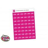 UW - Understanding of the World Stickers