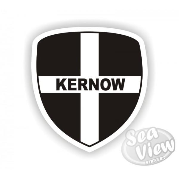 Cornish Shield Kernow Sticker