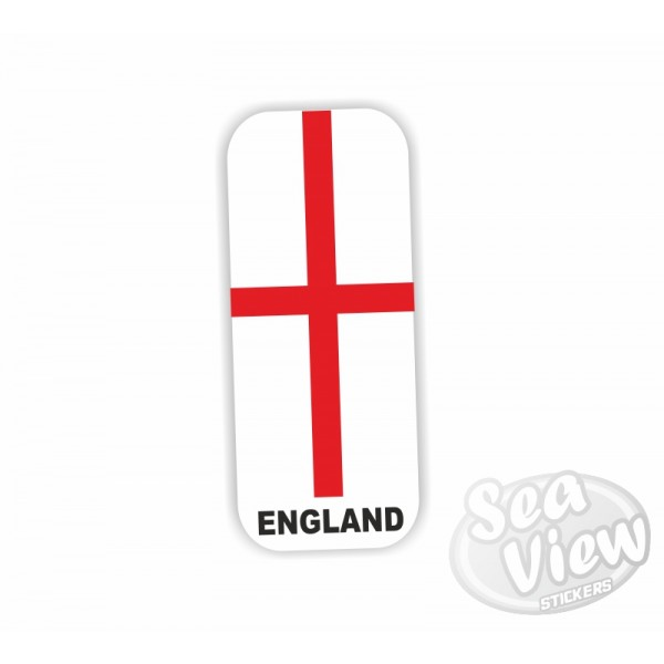 England Number Plate Sticker