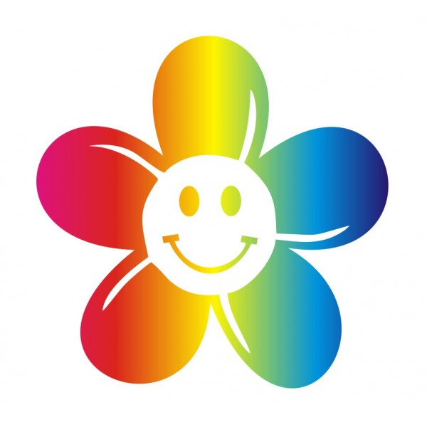 12 Daisy Flower Stickers