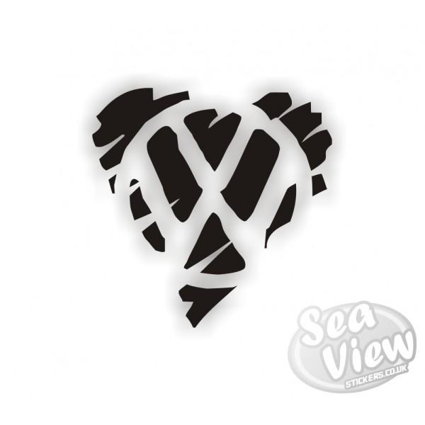 Vw Scribble Heart Logo