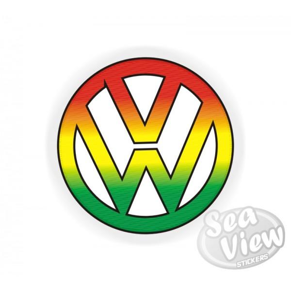 large vw reggae logo