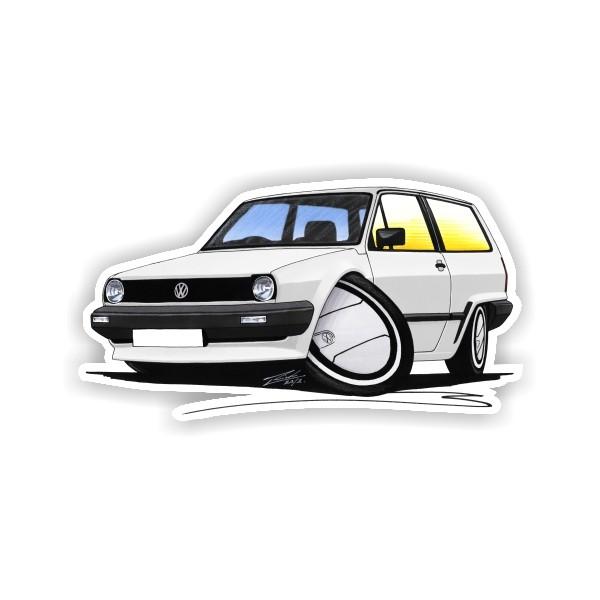 white Polo Mk2 image